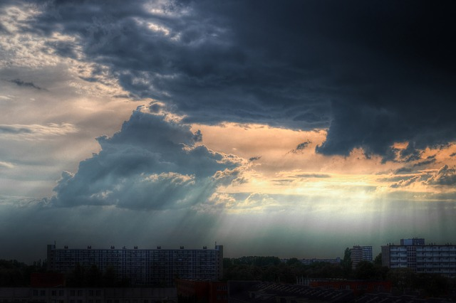 Urban Clouds Weather · Free photo on Pixabay