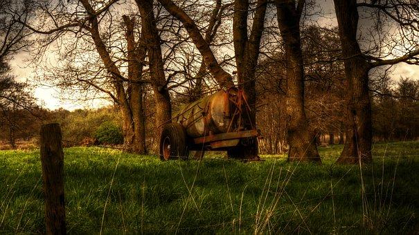 Slurry, Liquid Manure, Countryside