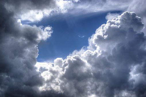 Cloudscape, Clouds, Weather, Cumulus
