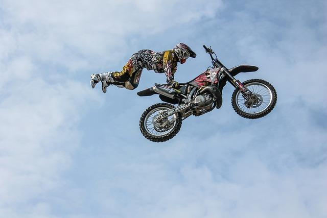 free photo  biker  motorcycle  stunt  man