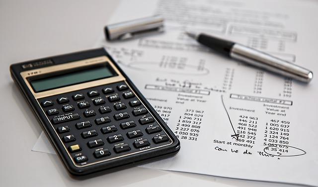電卓, 計算, 保険, ファイナンス, 会計, ペン, 万年筆, 投資, オフィス, 仕事, 税金