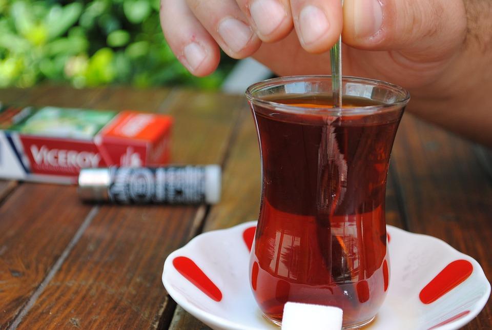 Чай, Турецкий, Пить, Питание, Коричневый Чай