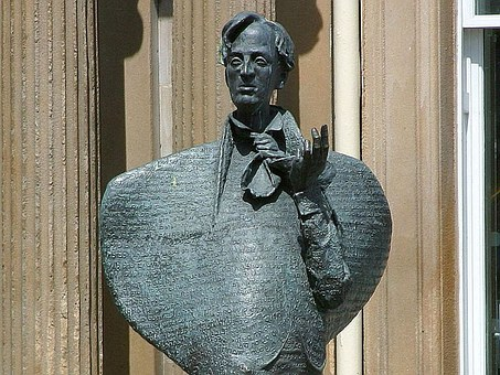 Yeats, Statue, Sculptures, Art
