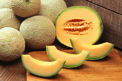 Muskmelons, Cantaloupes, Fruit, Melon