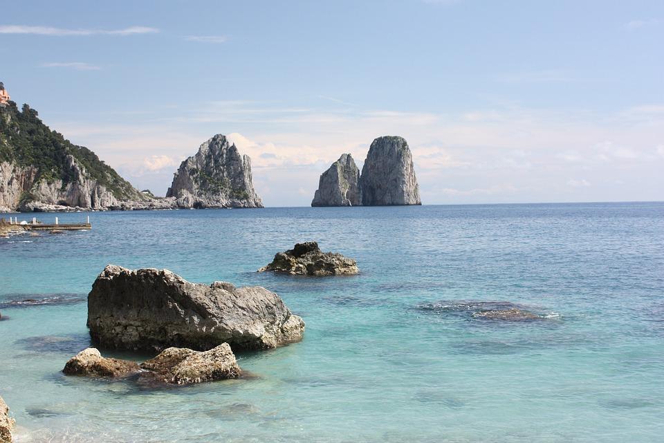 Capri Mare Italia Foto Gratis Su Pixabay