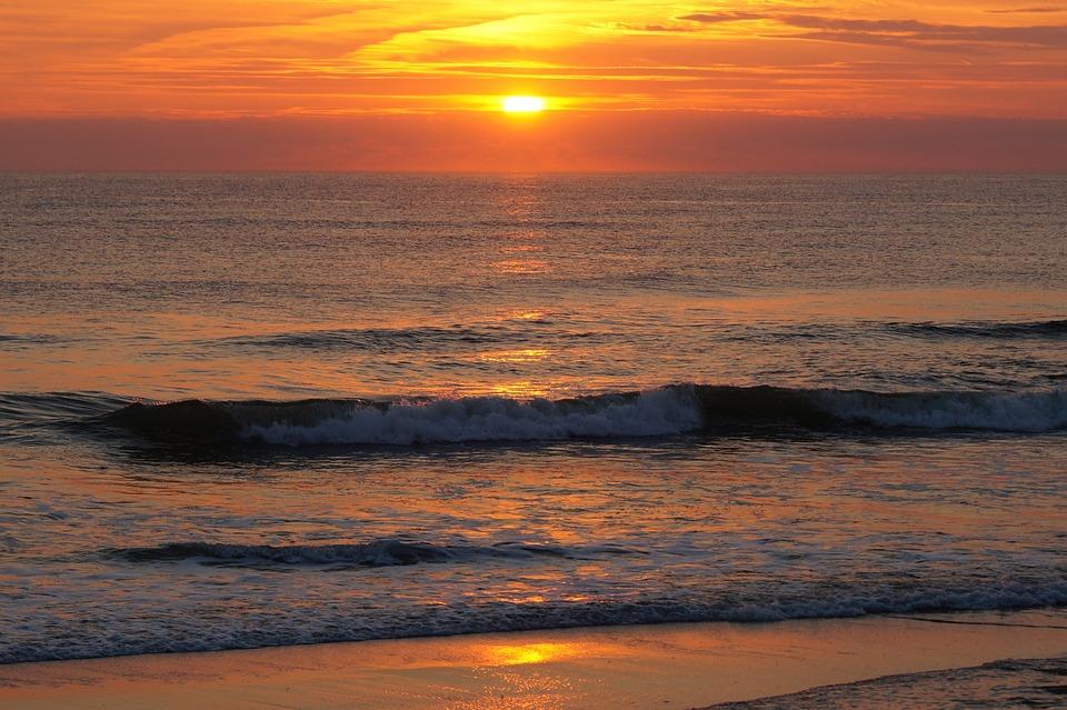 Strand nordsee sonnenuntergang  Kostenloses Foto: Sonnenuntergang, Sylt, Meer, Strand ...