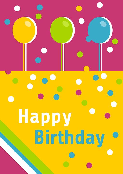Happy birthday greeting free vector graphic on pixabay happy birthday birthday greeting card map greeting m4hsunfo