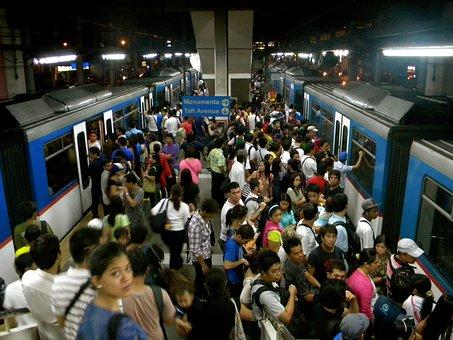 鉄道, 群衆, 交通, 乗用車, 旅行, 混雑, 地下, 通勤, 地下鉄, 旅