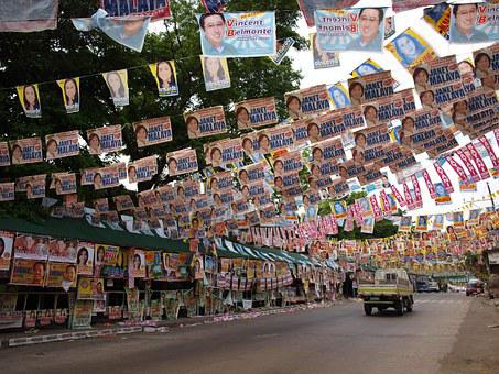 Election Campaign Poster Street Government