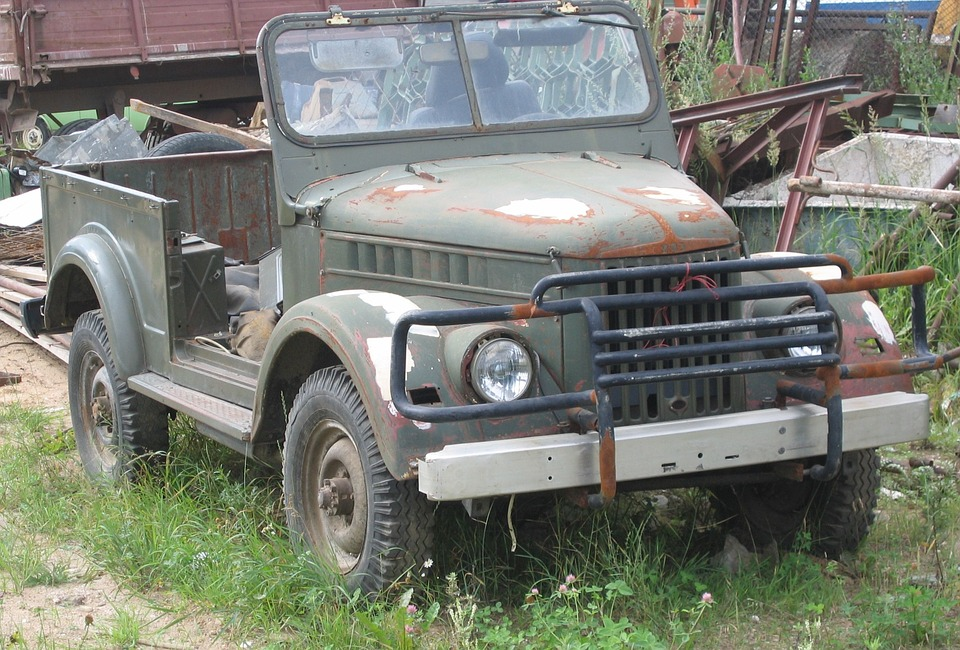 Free Photo Jeep Old Car Russian Uaz Free Image On