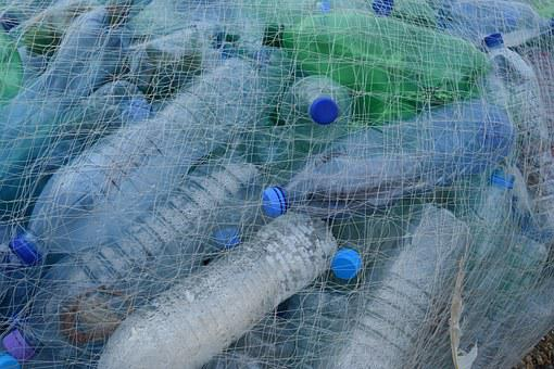 Plastic Bottles Fishing Net Netting Bottle