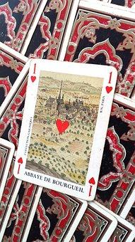Cards, Old, Ace, Vintage, Paper, Game