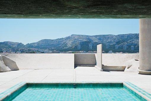 Piscina, Arquitetura, Corbusier, Pool
