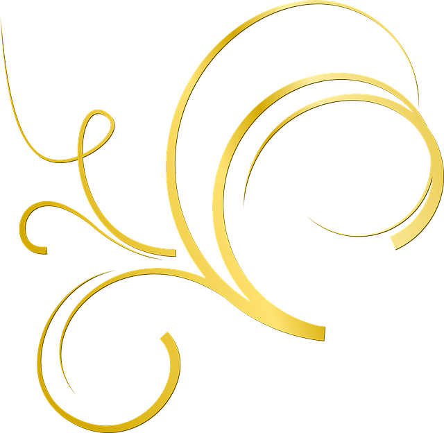 Gold Ornament Deco Free Vector Graphic On Pixabay