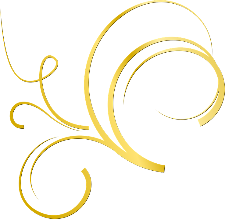 Gold Ornament Deco 183 Free Vector Graphic On Pixabay