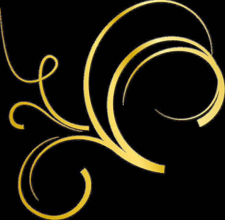 Gold Verzierung Deko 183 Kostenlose Vektorgrafik Auf Pixabay