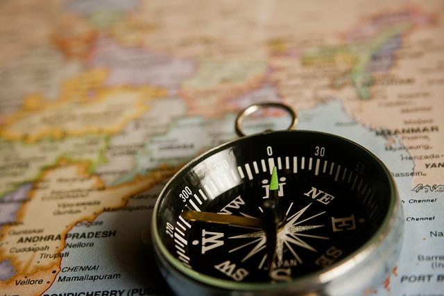 Free Photo Compass Navigation Map Direction Free