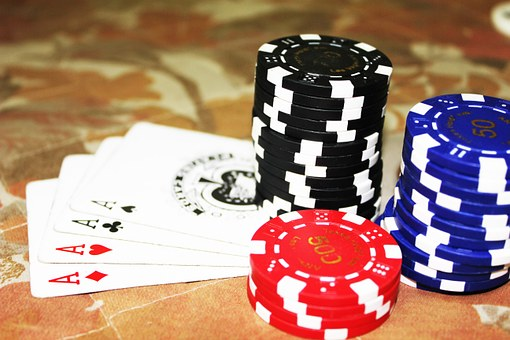 Poker, Cards, Aces, Chips, Gambling