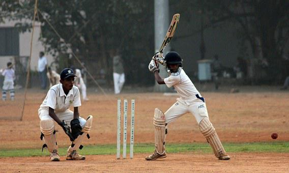 Cricket Batsman Ball Game India Competitio