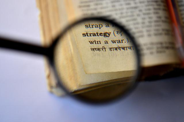 strategy dictionary magnifier  u00b7 free photo on pixabay