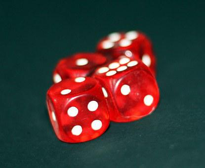 Dice, Gambling, Cubes, Luck, Chance