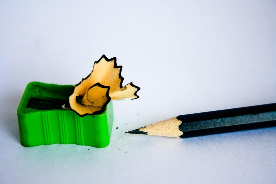 Puntenslijper potlood kantoor · gratis foto op pixabay