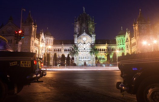 Cst, Victoria Station, Mumbai, Bombay