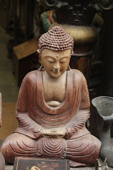 Buddha, Idol, Buddhism, Religion, Statue