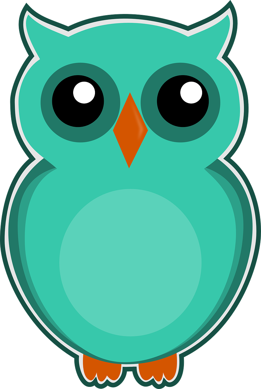 Burung Hantu Biru Hijau Gambar Gratis Di Pixabay