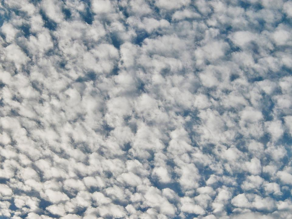 Cirrocumulus, Chmura, Niebo