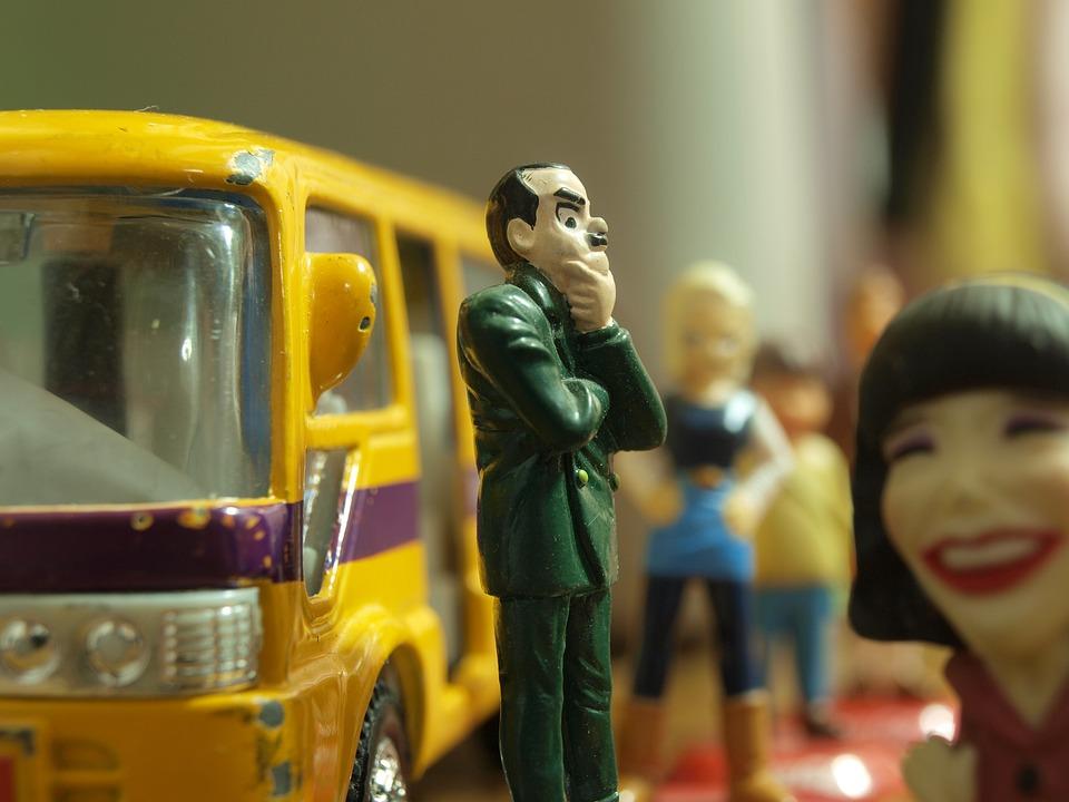 Paragem De Autocarro, Autocarro, Esperando, John Cleese, Preocupação, Preocupado