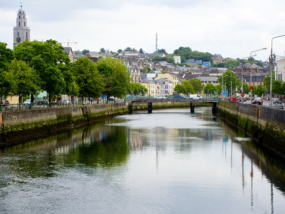 Cork, Canal, River, City Centre, Ireland
