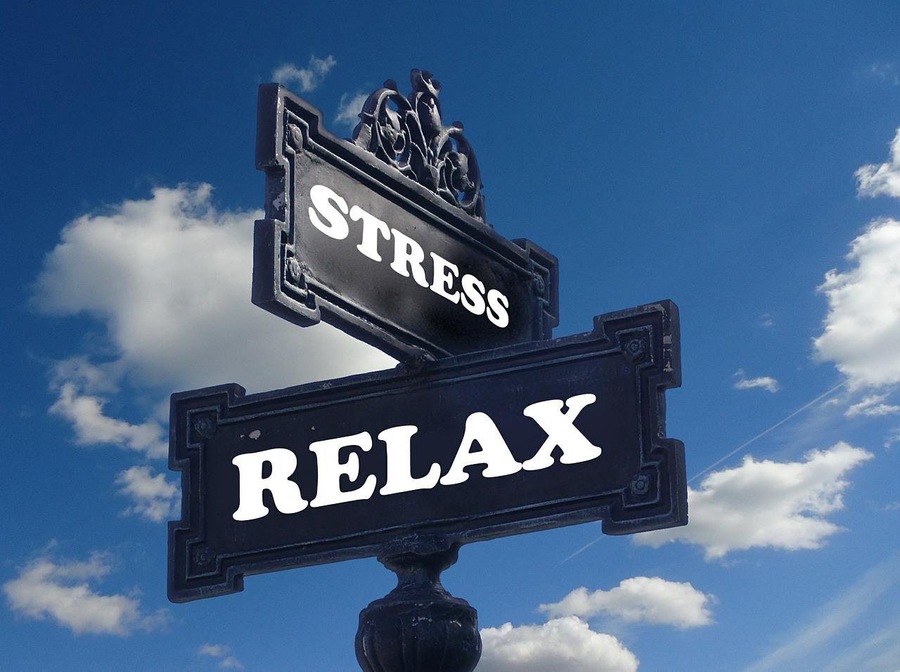 ストレス, リラクゼーション, リラックス, 単語, 電圧, バーンアウト, 頭痛, 心理学, 心理療法