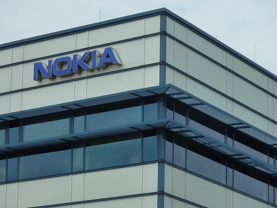 Building, Company Building, Logo, Nokia, Company