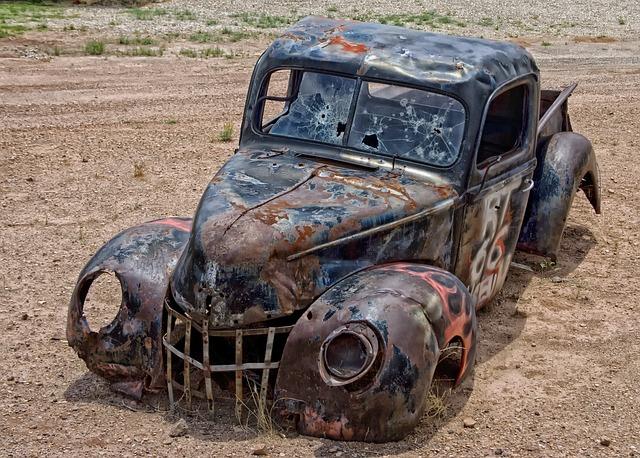 Pickup Truck Junk Arizona 183 Free Photo On Pixabay