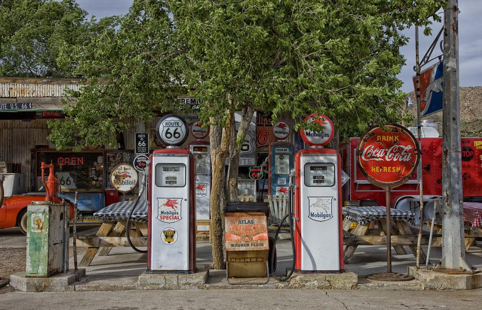 Vintage Gas Station Pumps 28