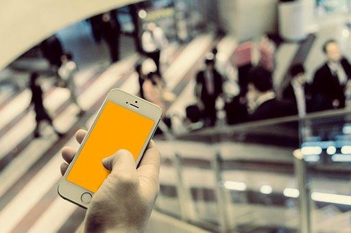 Iphone, ビジネス, メール, 通信, スマホ, お知らせ
