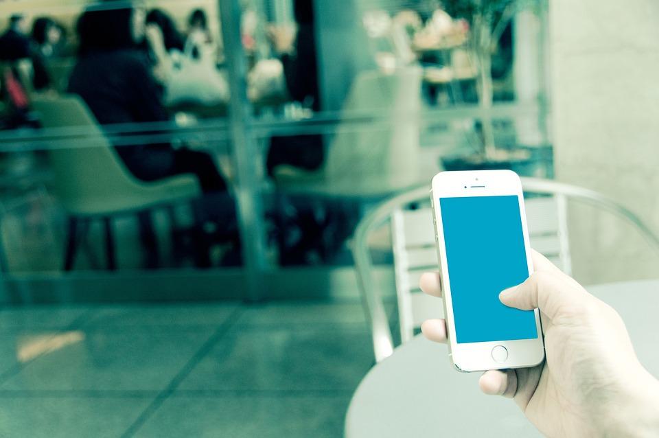 Iphone, ビジネス, 休憩, メール, お知らせ, 操作画面, ネット, 通信