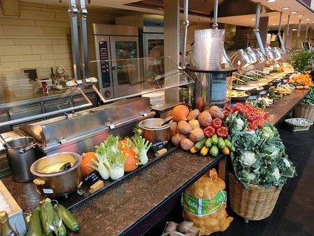 Large Kitchen, Canteen, Kitchen, Fruit