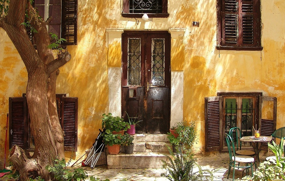 Hellas, Αθήνα, Πρόσοψη, Κτίριο, Σπίτι, Σπίτι Πρόσοψη