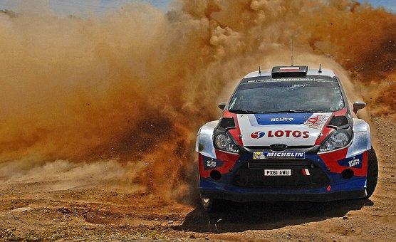 Rally, Single Seater, Racing Car