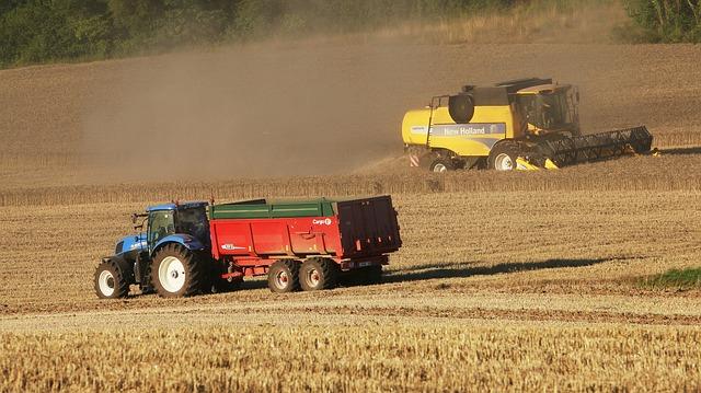 Tracteur champ paysage photo gratuite sur pixabay - Image tracteur ...