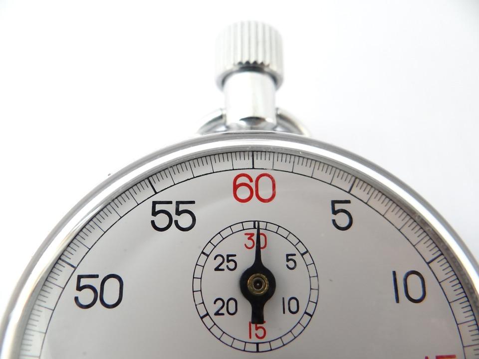 時計を停止します, 時計, ホワイト, クイック, ダイヤル, 2 番目, クロック, 速度, タイマー, 分