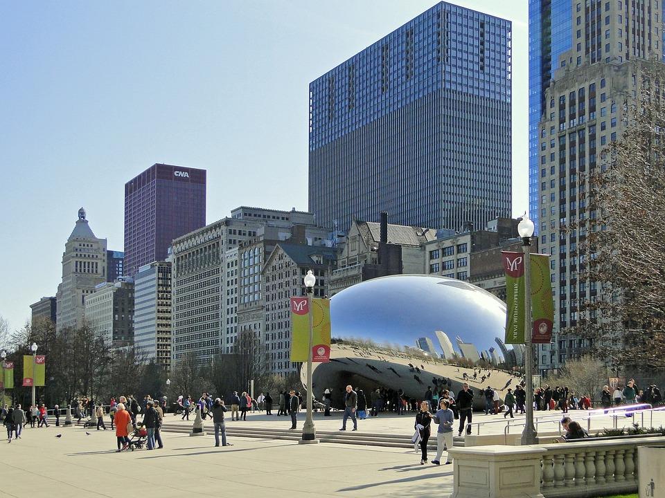 Free Photo Chicago Bean Chicago Illinois Free Image