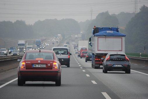自動車教習所, 車を運転します, 通り, 高速道路, ドイツ, トラフィック