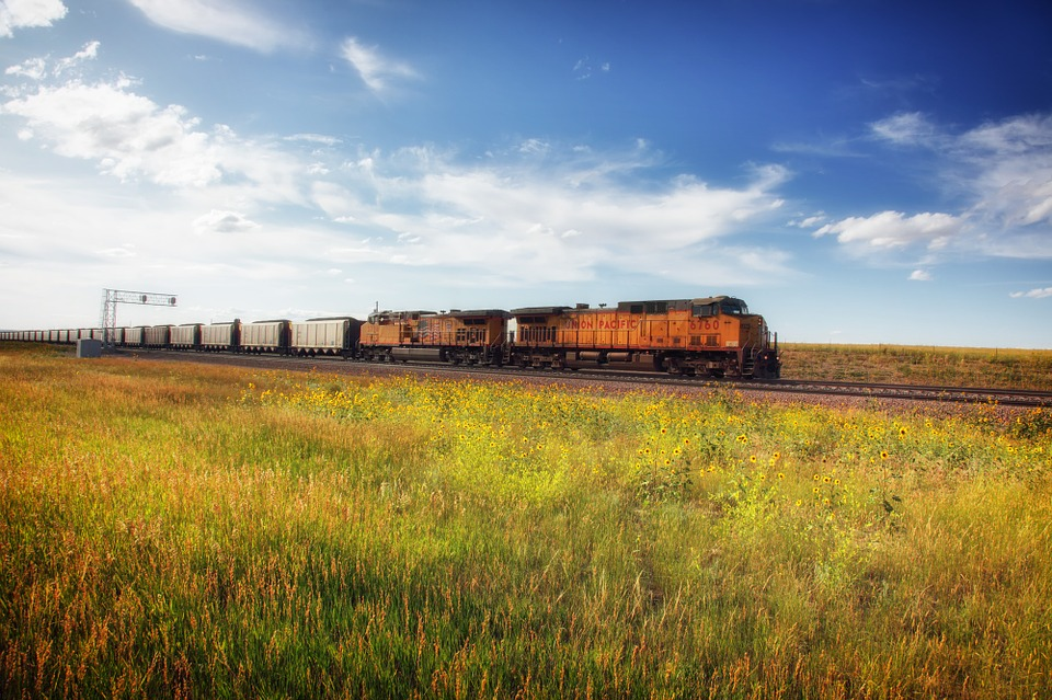 Free photo: Wyoming, Landscape, Scenic, Train - Free Image on ...