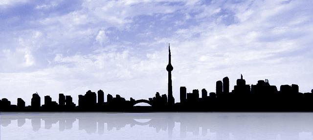 Free Illustration Toronto Skyline Canada Building