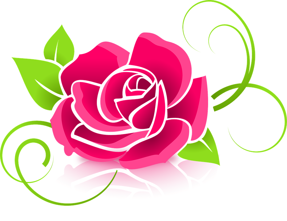 Rose, Graphic, Flower, Deco, Decorative, Floral