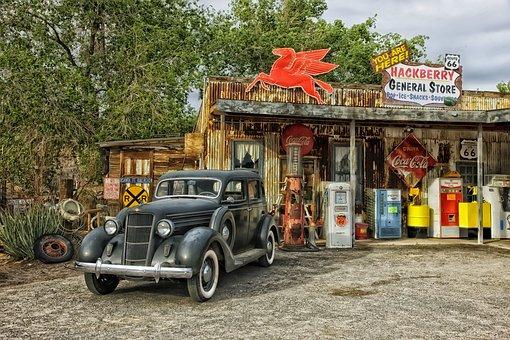 Arizona, General Store, Route 66, Shop