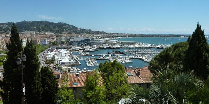 Cannes, France, Port, Sea, Vacations
